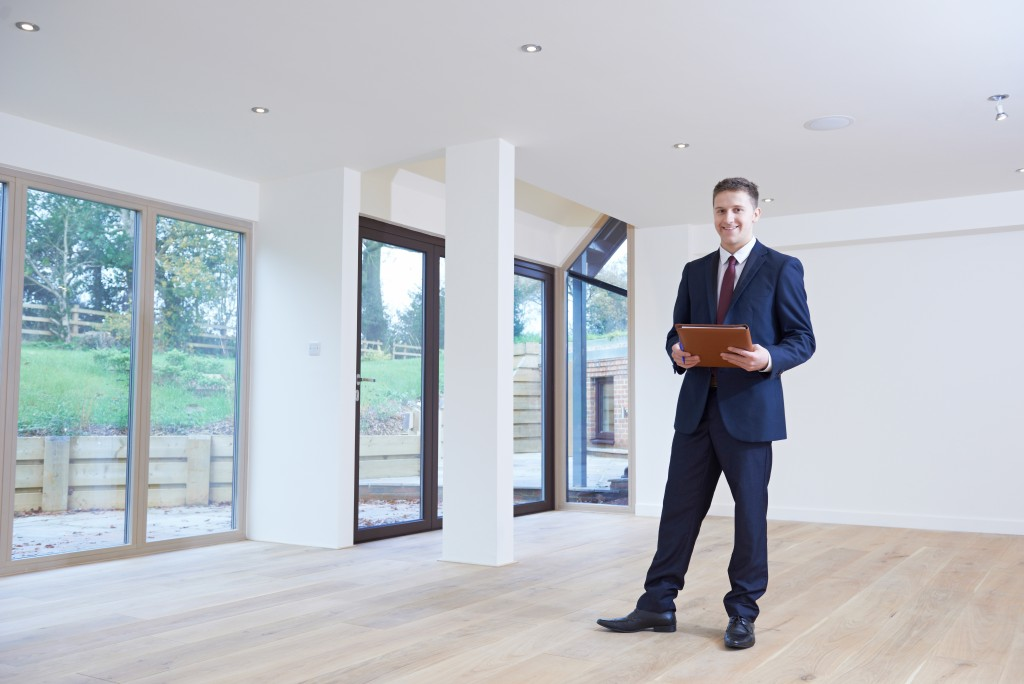 Property solicitor at an empty house