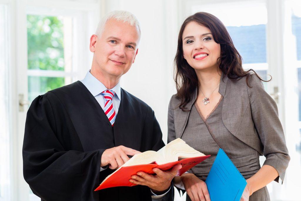 Newly employed paralegal