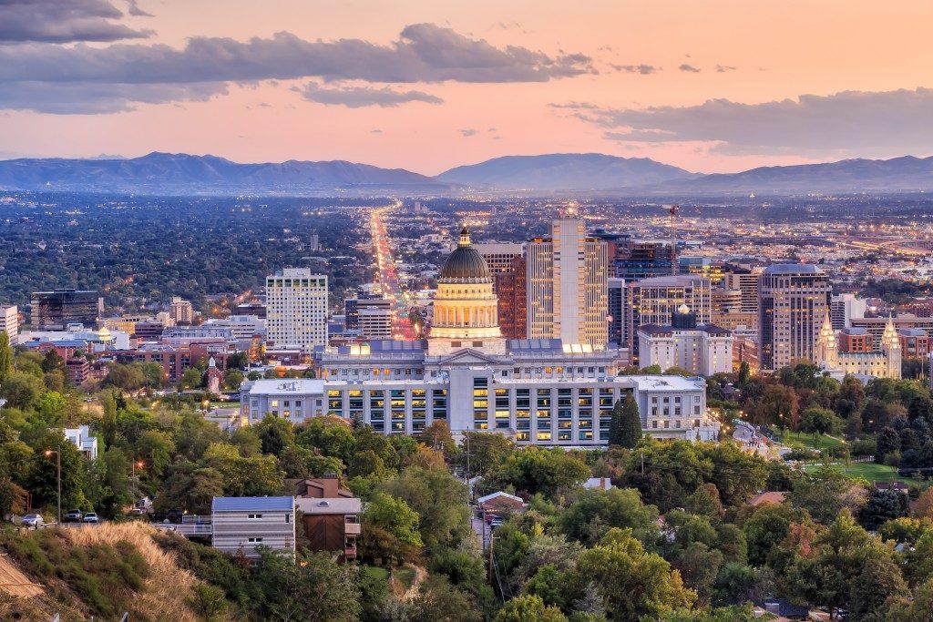 Utah cityscape